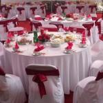 Bàn tròn ghế Xuân Hòa đám cưới