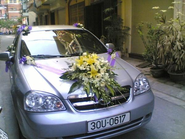 Hoa xe cưới 4