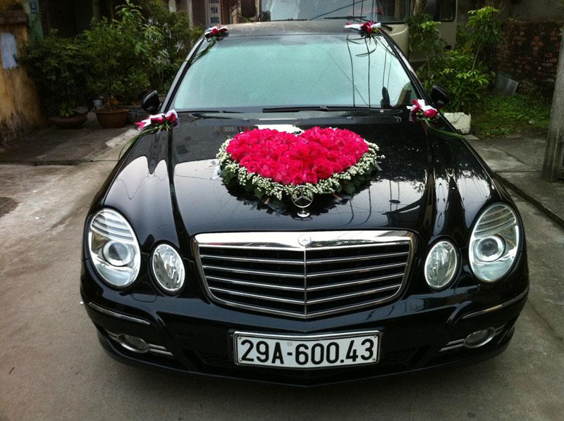 Hoa xe cưới 06