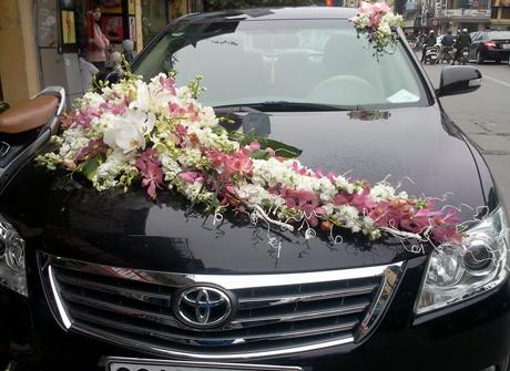 Hoa xe cưới 73