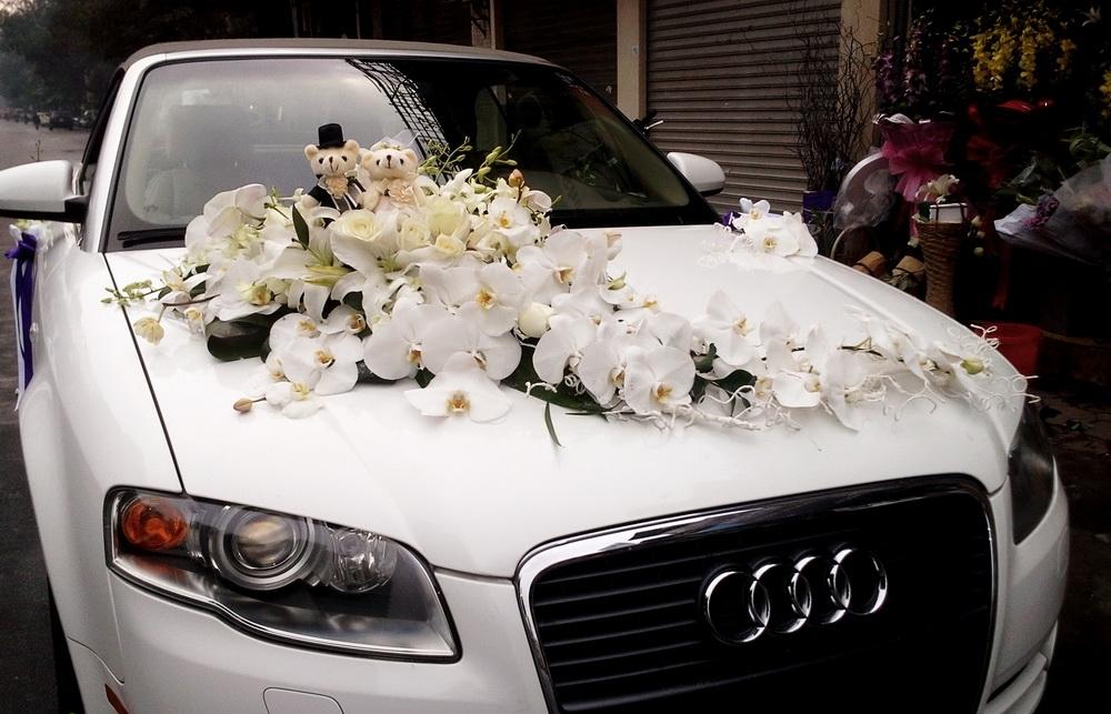 Hoa xe cưới 75