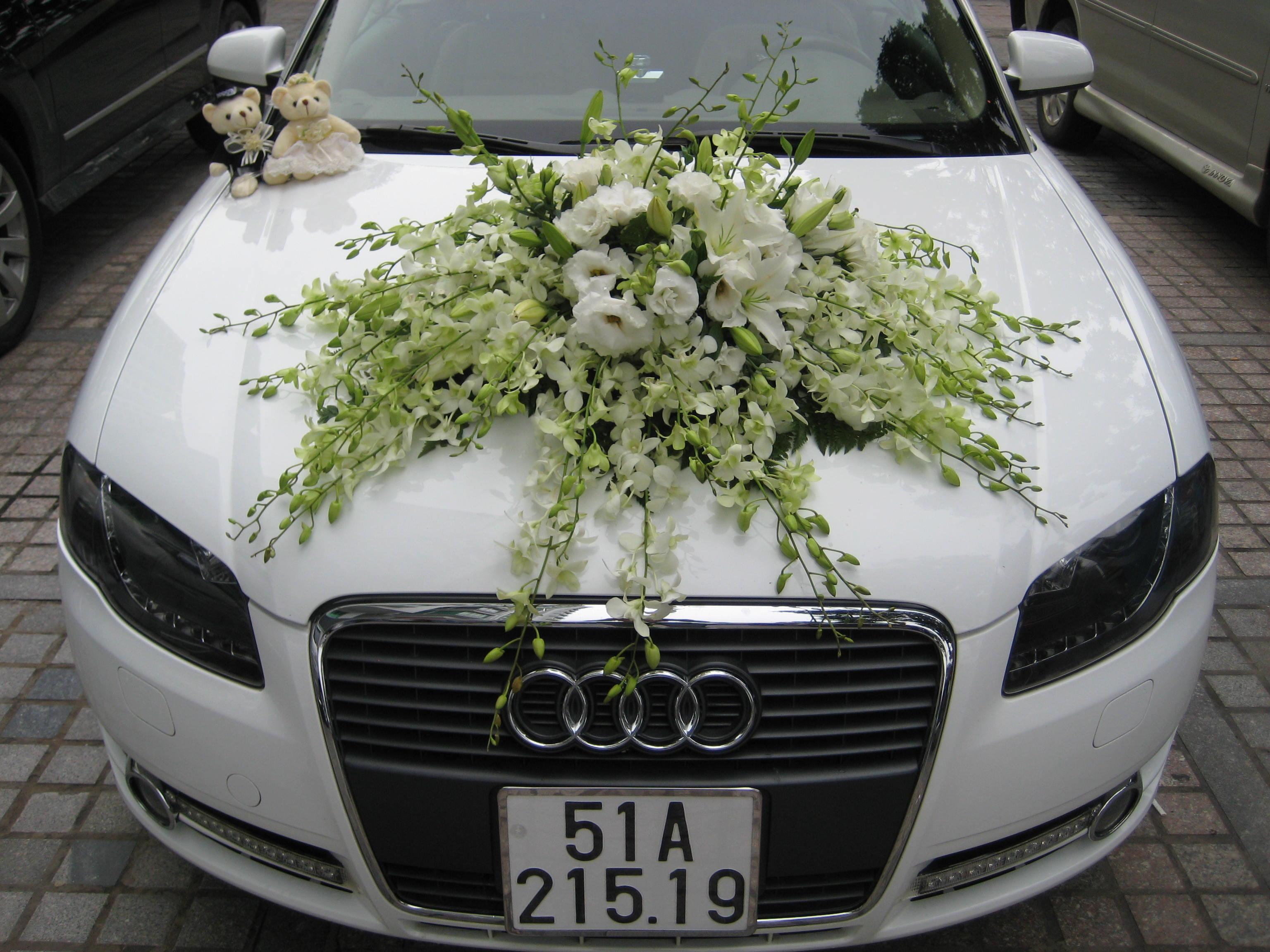 Hoa xe đón dâu 54
