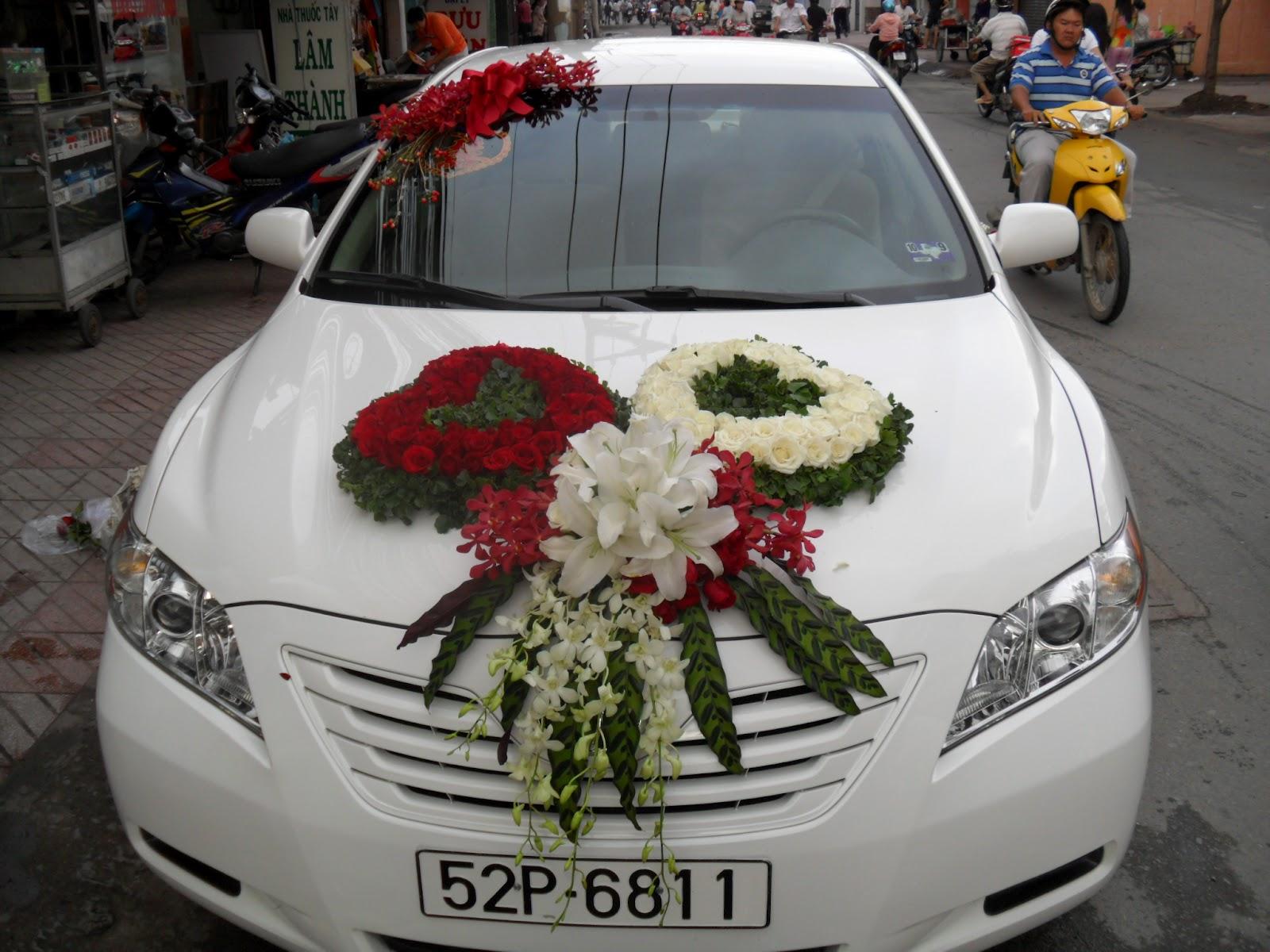 Hoa xe đón dâu 56