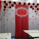 Phông cưới hỏi hoa giấy