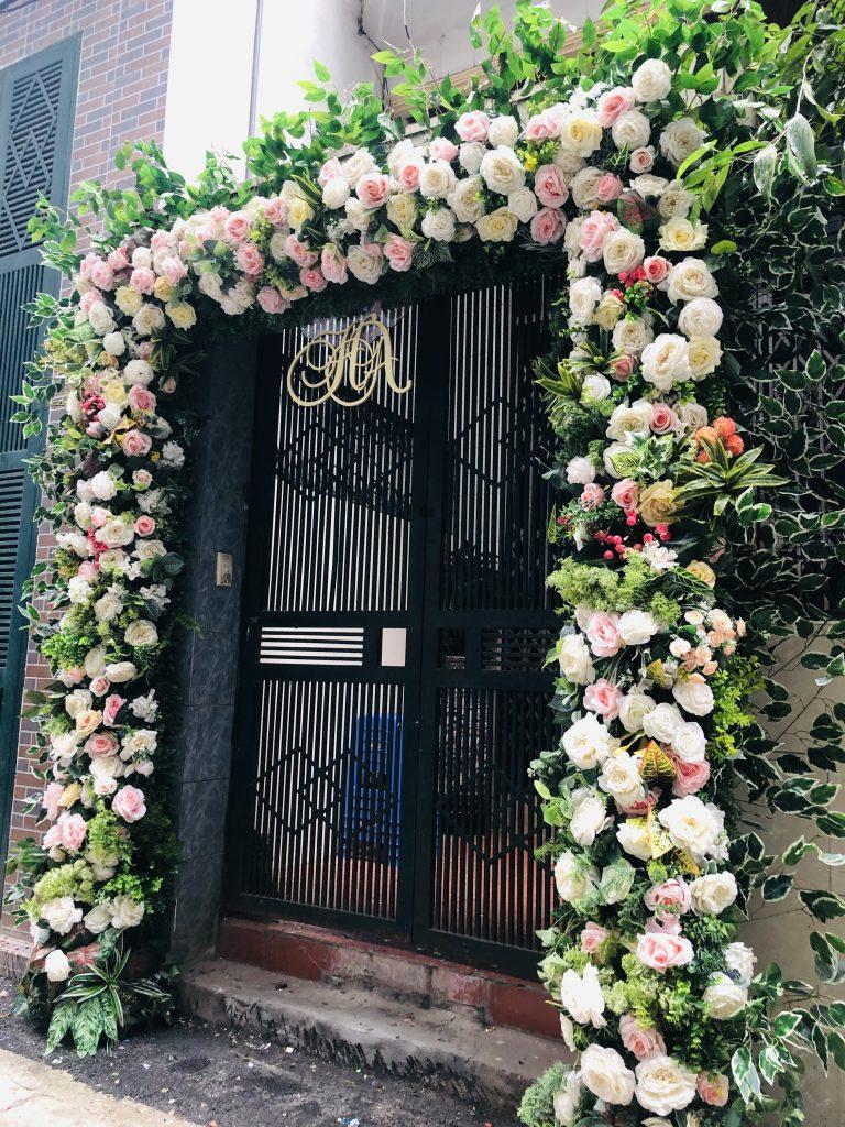 Cho thuê cổng hoa cưới là 1 dịch vụ nhỏ của công ty cưới hỏi hoàng vũ. Chuyên trang trí nhà ngày cưới, hỏi, liên hệ ngay 0986 036446
