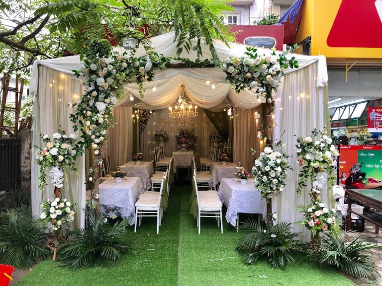 Nhà bạt đẹp, nhà bạt đám cưới, cho thuê nhà bạt,