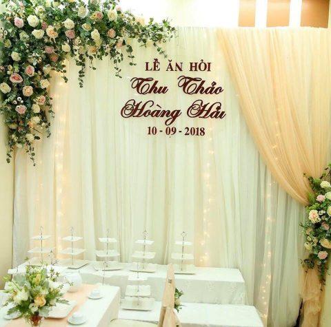 Mẫu phông cưới hỏi đẹp